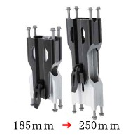 "【ski-doo】ADJUSTABLE RISER FOR STRAIGHT HANDLEBARFits Summit SP,REV-XU Skandic-Vehicles with 8""(205 mm)riser block"