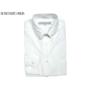INDIVIDUALIZED SHIRTS(インディビジュアライズド シャツ)/L/S STANDARD FIT B.D. GREAT AMERICAN OXFORD SHIRTS/white