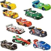 ディズニー ピクサー カーズ フィギュア プレイセット Disney / Pixar CARS 2 Movie Exclusive PVC 10Pack Deluxe Figurine Playset