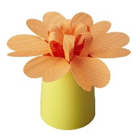 BRUNO パーソナルペーパー加湿器 HEART FLOWER POT BDE015-OR