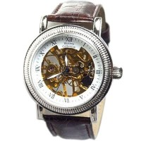 Montres Collection モントレスコレクション 手巻き 文字盤両面スケルトン 2515-GRWH/SV/BR