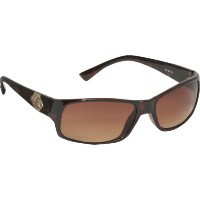 Rocawear ロカウェア メンズ サングラス Men's R1102 TS Wrap Sunglasses,Tortoise Frame/Gradient Brown Lens,one size