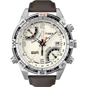 Timex タイメックス インテリジェント メンズ 腕時計 Intelligent Quartz Men's Flyback Chronograph Compass Watch with Dial...