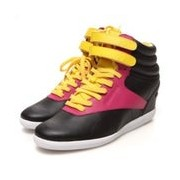 【SALEスタート】【SALE 50%OFF】リーボック REEBOK atmos F/S HI WEDGE AK(BLACK/YELLOW/PINK)