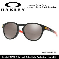 OAKLEY オークリー サングラス Latch PRIZM Polarized Ruby Fade Collection (Asia Fit) oo9349-15 53 アジアンフィット...