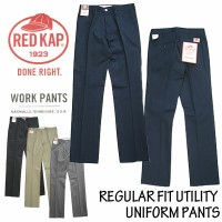 RED KAP レッドキャップ REGULAR FIT UTILITY UNIFORM PANTS トラウザーパンツ PT62J