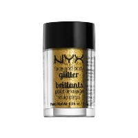 (3 Pack) NYX Face & Body Glitter 05 Gold (並行輸入品)