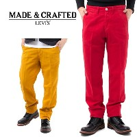 メンズ LEVI'S リーバイス Made&Crafted Drill Chino ドリルチノ 05136-0008Golden Yellow 0008Jester Red 0010 Bistre...