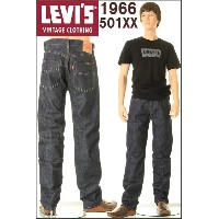LEVI'S MADE IN USA 1966 501XX LEVIS VINTAGE CLOTHING JEANS リーバイス 501xx ジーンズ CONE DENIM コーンミルズ赤耳デニム...