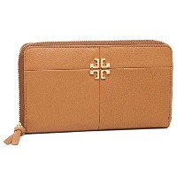 (トリーバーチ) TORY BURCH トリーバーチ 財布 TORY BURCH 31150 209 IVY ZIP CONTINENTAL WALLET 長財布 BARK [並行輸入品]
