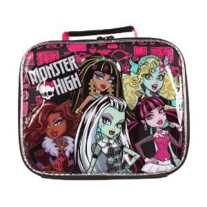 Monster High モンスター・ハイ ランチ トートバッグ 5 Character Soft Lunch Tote