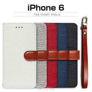 その他 motomo iPhone6 The Diary Viola レッド ds-1823506
