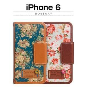 その他 Mr.H iPhone6 Nosegay ブルー ds-1823578