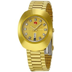 Rado ラドー メンズ 腕時計 Men's R12413493 Original Gold Dial Watch