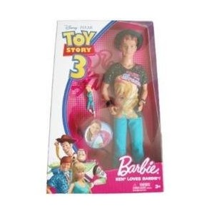 Disney ディズニー トイストーリー3 バービー ケン Pixar Toy Story 3 Barbie Doll Ken Loves Barbie