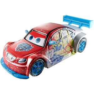 Mattel Disney-Pixar CARS - ICE RACERS - 1:55 Scale Special Icy Edition Vitaly Petrov  マテル ディズニー ...