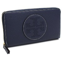 (トリーバーチ) TORY BURCH トリーバーチ 財布 TORY BURCH 36730 403 PERFORATED LOGO ZIP CONTINENTAL WALLET 長財布 ROYAL...