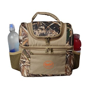 BayfieldバッグCamo Insulated Double Deckerランチバッグクーラー、11x 11x 8インチ