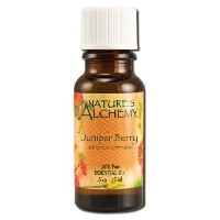 海外直送品 Natures Alchemy Pure Essential Oil Juniper Berry, 0.5 Oz