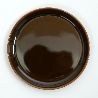 HASAMI PLATE MINI BROWN 【RCP】