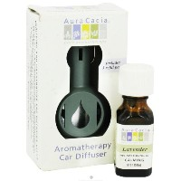 海外直送品Commuter Pack (Car Diffuser With .5 Oz Oil), Lavender 2 Pc by Aura Cacia