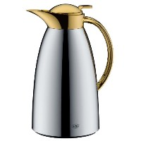 Alfi Vacuum Carafe Gusto, Arabic Design, for Tea/Coffee, Chromed/Gold Coated, 1.5l, 3528201150 by...