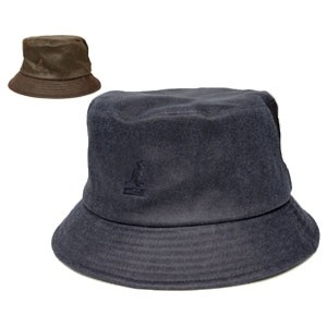 KANGOL カンゴール QUILTED MILITARY LAHINCH キルテッド ミリタリー ラヒンチ DK.Blue Tobacco 帽子 ハット サファリハット 紳士 婦人 メンズ...