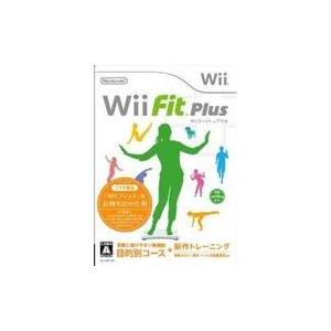 Wii Fit Plus ウィーフィット プラス ソフト単品 【中古】 Wii ソフト RVL-P-RFPJ / 中古 ゲーム
