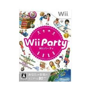 Wii Party ウィーパーティー ソフト単品 【中古】 Wii ソフト RVL-P-SUPJ / 中古 ゲーム
