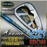 Akira(アキラ) ADR Vintageアイアン(#AW)単品 N.S.PRO Zelos7 【Made In Japan】
