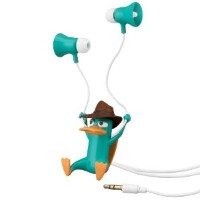 Phineas And Ferb Agent-P Earbuds 並行輸入品
