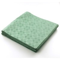 THE TABLECLOTH SHOP Green Paper Table Covers x 25 by Dispo