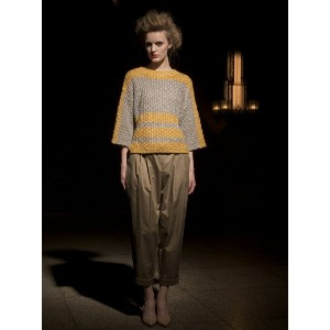 【SALE/50%OFF】beautiful people s/l EDO stripe guernsey ニュアン アウトレット ニット【RBA_S】【RBA_E】【送料無料】