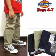 DICKIES/ディッキーズ/チノパン/キッズ/KP3321/パンツ/BOYS CLASSIC FIT FLEX WAIST FLAT FRONT PANT 05P01Oct16