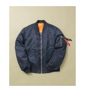 UR ALPHA INDUSTRIES×URBAN RESEARCHiD 別注LOOSE FIT MA-1【アーバンリサーチ/URBAN RESEARCH メンズ ブルゾン・スタジャン NAVY...