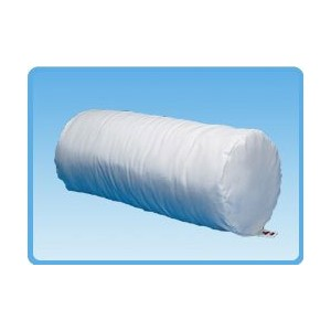 BodySport Cervical Jackson Roll Pillow, 17 x 7, White, Firm Support - Each by Body Sport