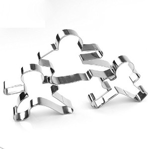 KARATE KID Cookie Cutter Set - Stainless Steel by GXHUANG