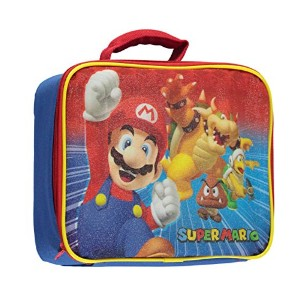 Super Mario Soft Lunch Box (Mario & Bowser) by Global Design