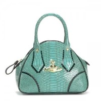 VIVIENNE WESTWOOD 5243 FRILLY SNAKE H TURQUOISEハンドバッグ【】ヴィヴィアンウエストウッド【新品・未使用・正規品】