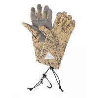 and wander(アンドワンダー) リフレクティブ・ポーラテックグローブ【polatec gloves】
