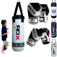 RDX キッズ Heavy Boxing 2FT Punch Bag Filled MMA Punching Training グローブ KickBoxing (海外取寄せ品)