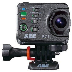AEE Technology S71T Plus 4K 16MP HD 2 Inch LCD Touchscreen 120FPS Slow-Mo Action Camera 100M IP68...