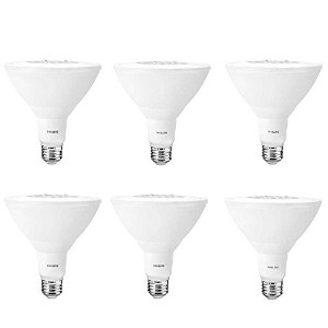 Philips 45799390W相当明るいホワイトpar38LED Flood Light Bulb with 25°ビーム角度( 6パック)