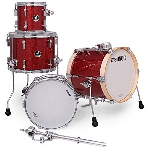 SONOR ソナー 小口径ドラムセット SSE MAR:RGS [MARTINI:Red Glaxy Sparkle]