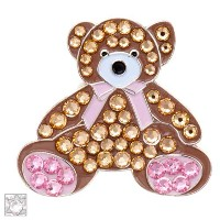 Bonjoc Ladies Teddy Bear Ball Markers by Seema Sparkle【ゴルフ レディース>ボールマーカー】