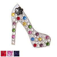 Bonjoc Ladies High Heel Ball Markers by Seema Sparkle【ゴルフ レディース>ボールマーカー】