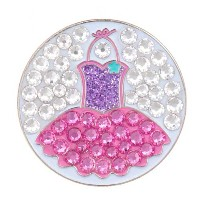 Bonjoc Ladies Totally Tutu Ball Markers by Seema Sparkle【ゴルフ レディース>ボールマーカー】