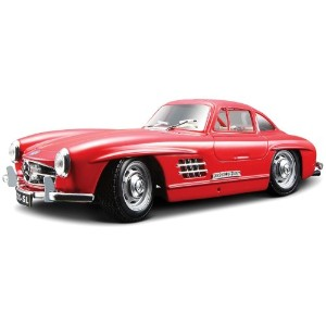 Bburago 1954 Bijoux 1:24 Scale Red Mercedes-Benz 300SL ダイキャストカー【並行輸入品】