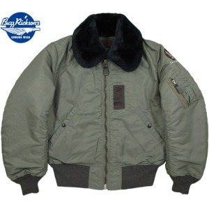 "BUZZ RICKSON'S/バズリクソンズ Jacket,Flying,Intermediate Type B-15D""B.RICKSON FLIGHT WEAR CO.""Lot/BR13872"