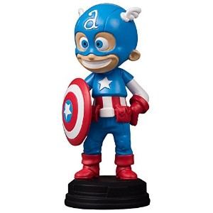 Gentle Giant Captain America Animated Marvel Statue Full Color 8 x 2 x 2.5 [並行輸入品]